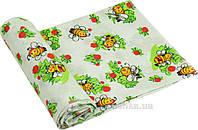 Пеленка детская ситец Руно Пчелка салатовая 80х95 см