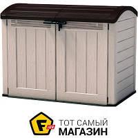 Садовый шкаф - пластик, полипропилен - Keter Store It Out Ultra бежевый/коричневый (17199414590)