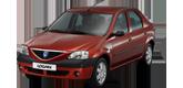 Фары передние для Dacia Logan 2004-12