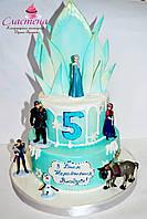 "Детский торт ""Frozen"""