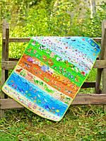 Детский эко плед-одеяло Loskutini с конопляным наполнителем В мире животных LK.1111 75х100 см