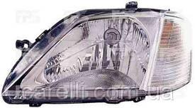 Фара передняя для Dacia Logan '04-08 левая (DEPO) под электрокорректор