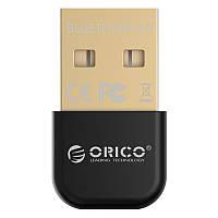 USB Bluetooth адаптер ORICO беспроводной передатчик bluetooth 4.0 для компьютера, ноутбука BTA-403-BK (Черный)