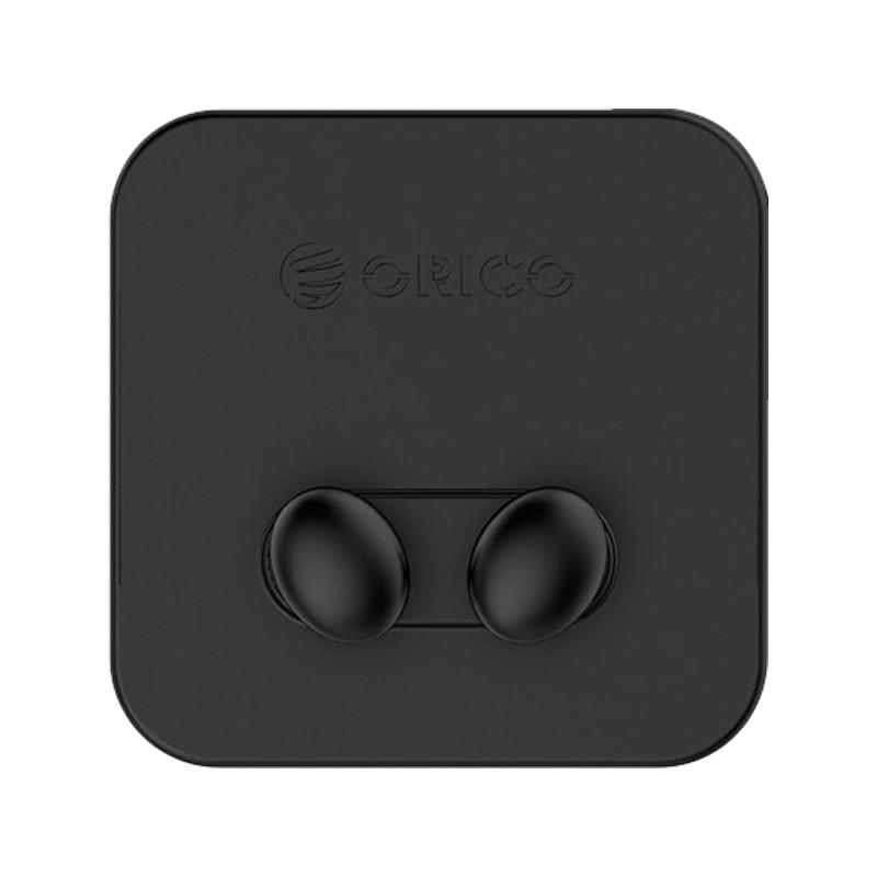 Силіконовий тримач кабелю ORICO SG-WT2 (Чорні, 2шт)