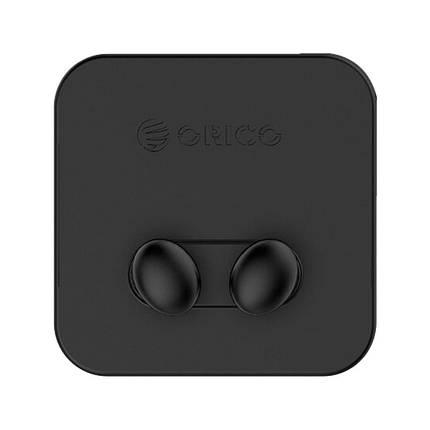 Силіконовий тримач кабелю ORICO SG-WT2 (Чорні, 2шт), фото 2