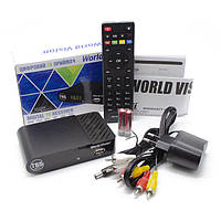 Т2 приставка - приемник World Vision T65 цифровой эфирный DVB-T2 ресивер R156251