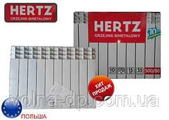 Радиатор биметаллический 500/80 HERTZ
