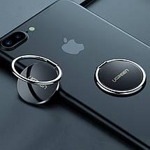 Кольцо-держатель для смартфона Ugreen LP133 (Черный), фото 2