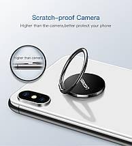 Кольцо-держатель для смартфона Ugreen LP133 (Черный), фото 3
