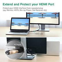 Перехідник HDMI Ugreen HD112 кутовий (Правий), фото 3