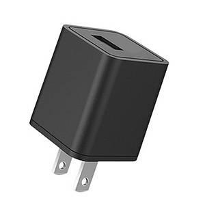 Универсальное сетевое зарядное устройство Rock 5V/1A RWX0229 (GS-50100A) (Черное)