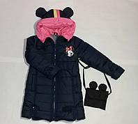 Детская куртка для девочки весна осень модная