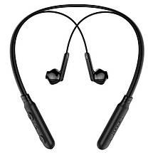 Беспроводные Bluetooth наушники Baseus Encok Neck Hung Earphone S16 со встроенным микрофоном (Черные), фото 3
