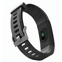 Фітнес-браслет Smart Band id115 Plus з кольоровим 0,96 дюймовим екраном (Чорний), фото 2