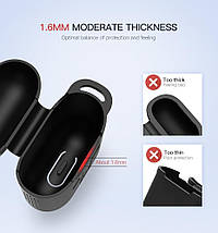 Силіконовий чохол для навушників AirPods Ugreen Earphone Case for Apple AirPods 50867 (Чорний), фото 3