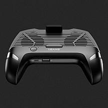 Джойстик для смартфона USAMS US-ZJ037 Cooling Gamepad з функцією охолодження і зарядки (Чорний), фото 3