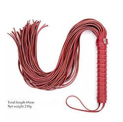 Плеть красная, экокожа ( люкс)