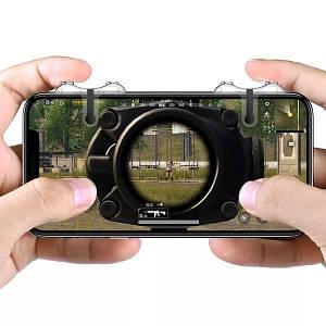 Ігровий контролер (джойстик, геймпад, тригер) Baseus G9 Mobile Game SUCJG9-01 для смартфона (Чорний)