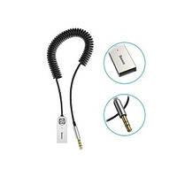 Аудио Bluetooth 5.0 приемнк Baseus BA01 Wireless Bluetooth Transmitter с USB и 3.5мм AUX разьемами (Черный)