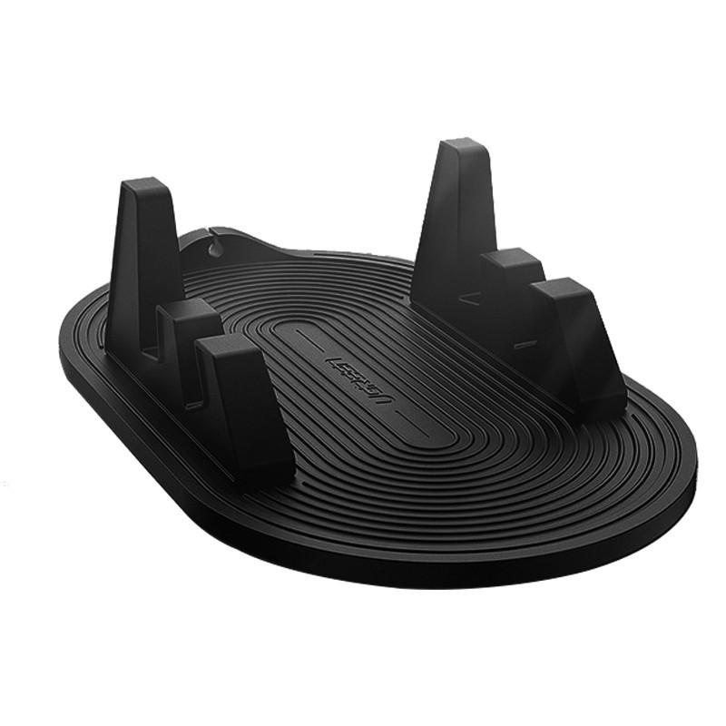 Автотримач для телефону з анти-ковзанням на торпеду Ugreen 60553 (Чорний)
