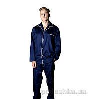 Мужская пижама Sleeper Set Navy синяя XS