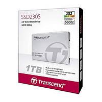 Жорсткий диск внутрішній SSD 1 TB Transcend SSD230S (TS1TSSD230S) Transcend SSD230S (TS1TSSD230S) Grey