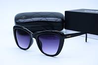 Солнцезащитные очки квадратные Ch 5392 черные, фото 1