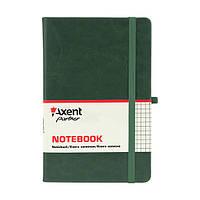 Книга записная Axent Partner Lux 125*195 96л кл зеленый 8202-04-A