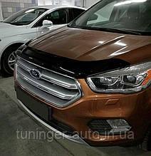 Мухобойка,дефлектор капота Ford Kuga 2016+ (SIM)