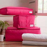 Сумка для одеял нейлоновая Genner размер S фуксия 01099/01, фото 1