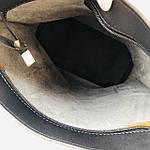 Женская сумка c косметичкой черная  (036), фото 4