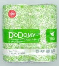 Бумага туалетная Додому 4 рулона