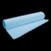 Простынь-спанбонд в рулоне голубая (ширина 80 см, длина 100 м.)