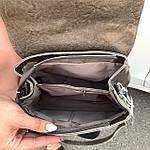 Стильная женская сумка серая (35896), фото 3