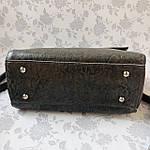 Стильная женская сумка серая (35896), фото 7