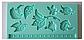 Молд кондитерский силиконовый Листики 13 х 20 cm., фото 2