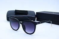 Солнцезащитные очки Gen 5131 черные с серым, фото 1