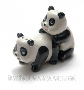 Солонка с перечницой панды