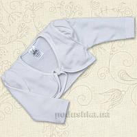 Болеро для девочки Лилия Бетис интерлок 74 цвет белый