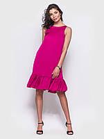 Вечернее платье с открытой спиной play М 46 малиновый цвет UAJJ130_13