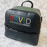 Стильный женский сумка-рюкзак David Jones (6138-3), фото 2