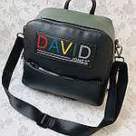 Стильный женский сумка-рюкзак David Jones (6138-3), фото 9