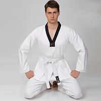 Куртка для тхэквондо (добок) MATSA (хлопок 100%-плотность 240г на м2, размер 1-6, рост-140-190см). Распродажа!