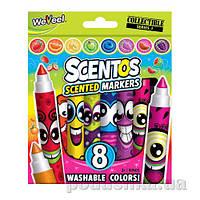 Набор ароматных маркеров для рисования - ПЛАВНАЯ ЛИНИЯ 8 цветов Scentos 40605