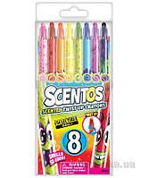 Набор ароматных восковых карандашей для рисования - РАДУГА 8 цветов Scentos 41102
