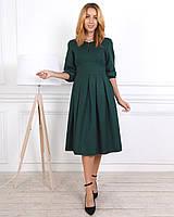 Изумрудное  женское платье размеры 44,46,48