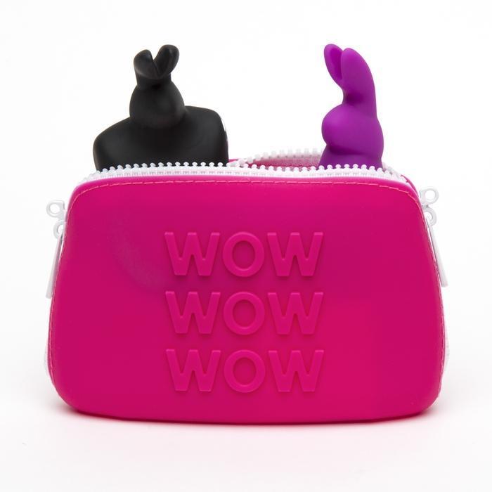 Кейс для секс игрушек WOW Happy Rabbit, 16,5 х 2,5 х 10,7 см