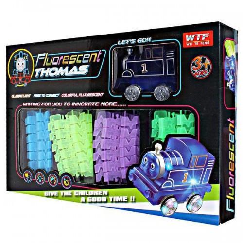 Светящийся Magic Track паровозик Томас (73 деталей)
