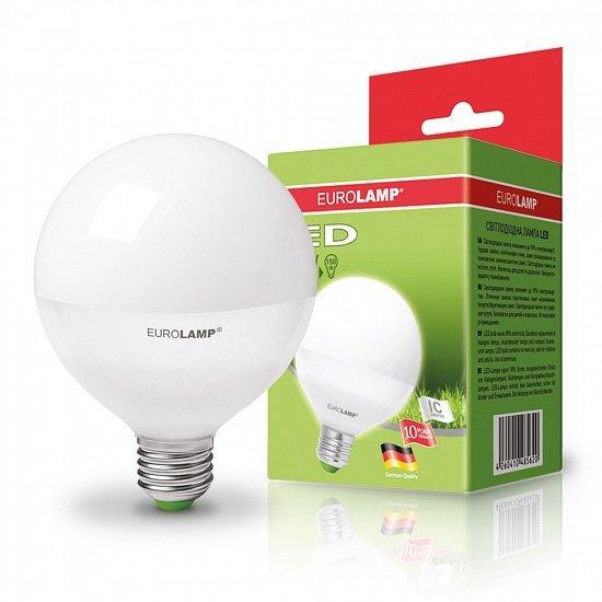 EUROLAMP LED Лампа ЕКО серія  G95 15W E27 3000K