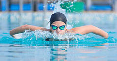 Шапочки для бассейна и плавания